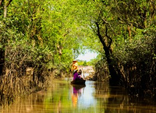 Taking tourists into the heart of the Mekong.