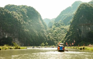 Journeying into the canyon and caves of Ninh Binh.