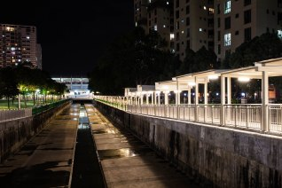 Gazing down the drains at Kembangan